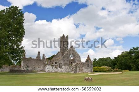 Adare Abbey in Ireland