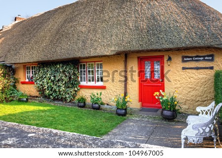 Adare Cottage Shop in Ireland.