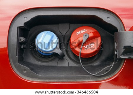 adblue diesel exhaust fluid fuel tank cap stock photo 346466504 shutterstock. Black Bedroom Furniture Sets. Home Design Ideas