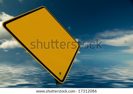 Add your own ad design onto this blank sign. Be creative!! Good luck.