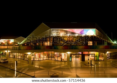 ADELAIDE, AUSTRALIA - APRIL 4: Adelaide Festival Centre, home of the performing arts on April 4, 2010 in Adelaide, South Australia