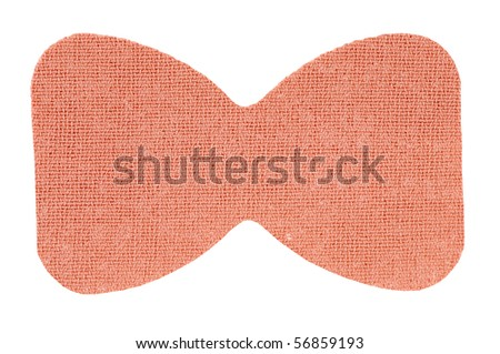 adhesive bandage on a white background