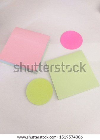 adhesive notes for take notes and set them wherever you want #1519574306