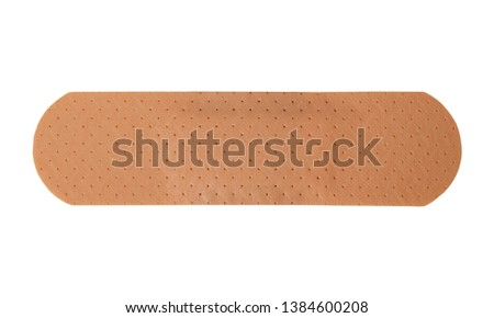 adhesive plaster isolated on white Сток-фото ©