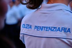 Adjuration to the Italian Republic of Penitentiary Agents on Lago Maggiore at Verbania, Piedmont, Italy