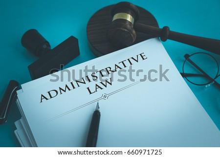 ADMINISTRATIVE LAW CONCEPT