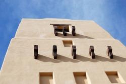 Adobe Building - Sante Fe Style