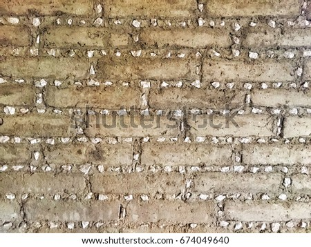 Adobe wall and background #674049640