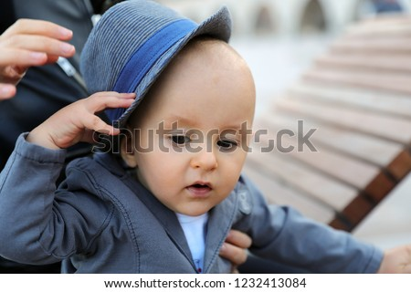 a69b6f2bd Free photos Happy baby in business suit