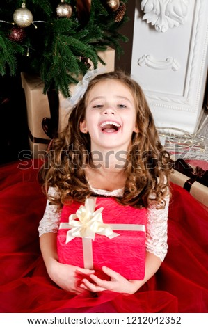 6789a30cf Free photos Happy adorable little girl in princess dress sitting on ...