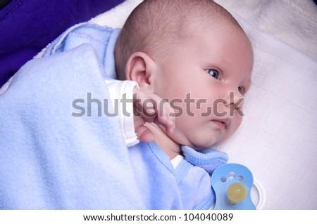 adorable little baby boy