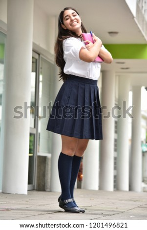 a4580ade55 Young girl/ pupil in the school dress Images and Stock Photos - Page ...