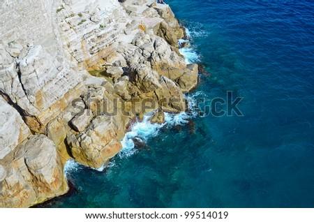 adriatic sea at Dubrovnik, Croatia