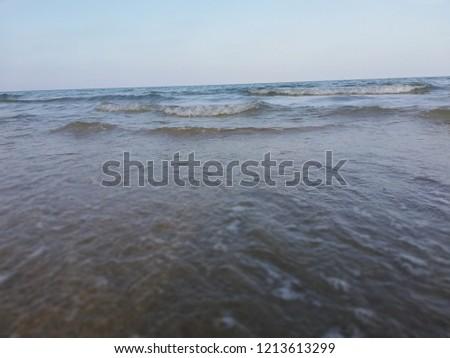 Adriatic sea in Italy #1213613299