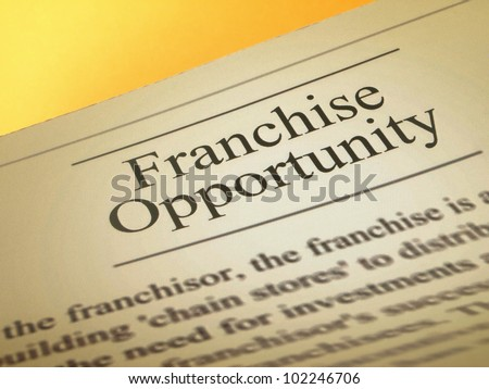 Ads of franchise opportunities