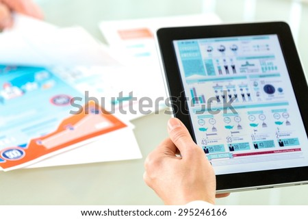 Adult, african, briefing. - Shutterstock ID 295246166