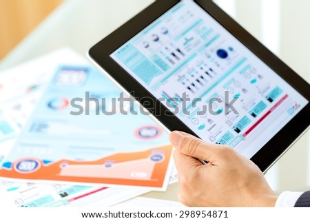 Adult, african, briefing. - Shutterstock ID 298954871