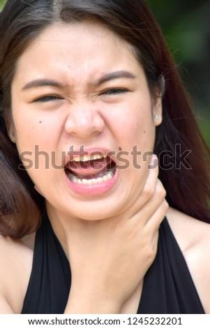 Adult Female Choking