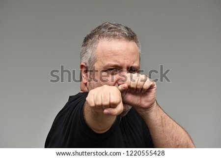 Adult Male Kickboxing