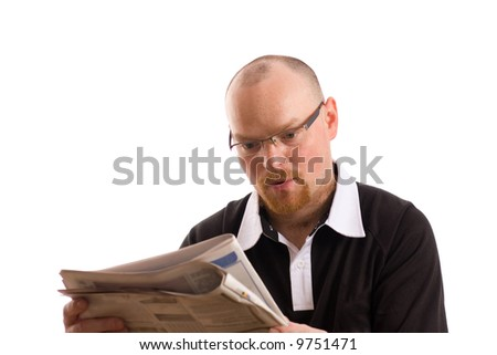stock photo adult male model reading newspaper paper news 9751471 Today on Happy Tugs, we have a Free Happy Tugs torrent of anal sex.