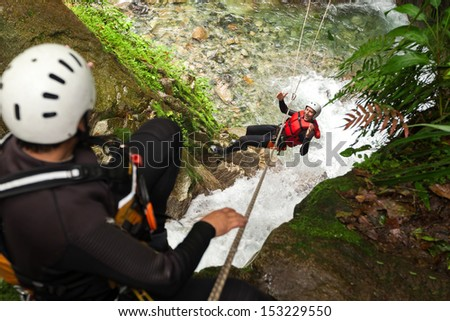 Adult Man Zip Line Experience In South America South America.