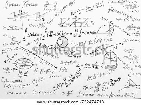 Advanced calculus on whiteboard