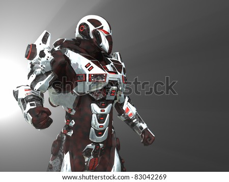 Advanced cyborg future soldier