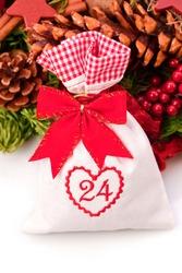 advent calendar christmas gift bag number twentyfour