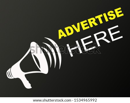 Advertise here - sign board hoarding for commercial use by agencies and companies