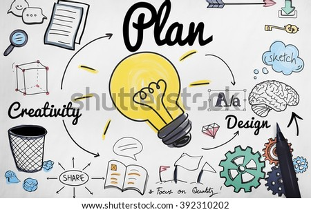 Advertise Plan Idea Creativity Concept