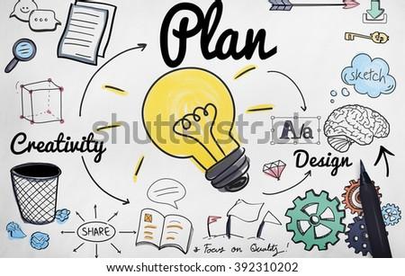 Advertise Plan Idea Creativity Concept