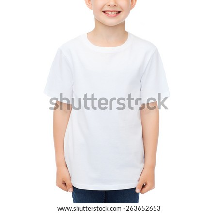 Advertising People Childhood And T Shirt Design Concept
