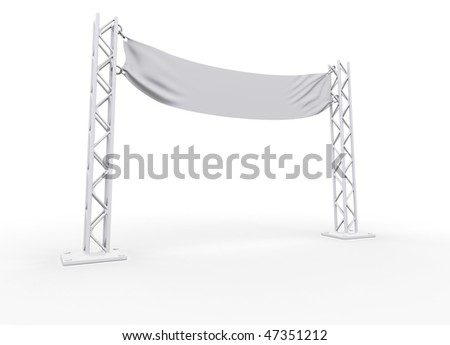 Advertising signboard. billboard for your advertising and web design
