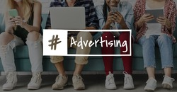 Advertising Social Consumer Advertisement Icon