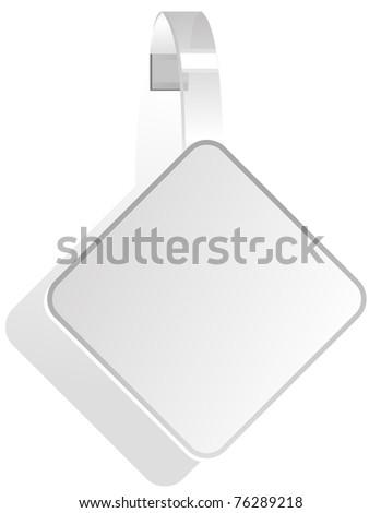 advertising White Paper wobbler