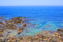 Aegean Sea on Crete Island, Greece