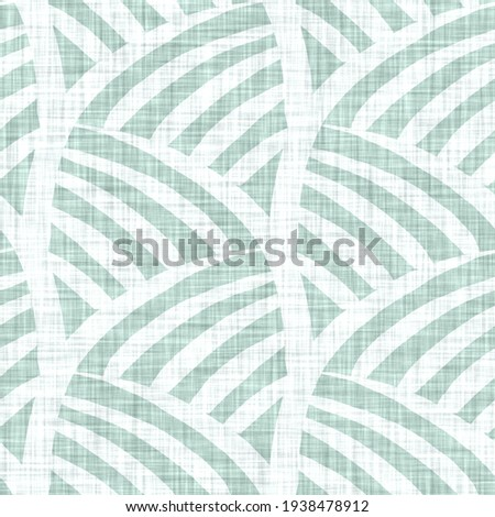 Aegean teal mottle chevron patterned linen texture background. Summer coastal living style home decor fabric effect. Sea green wash grunge striped zig zag material. Decorative textile seamless pattern