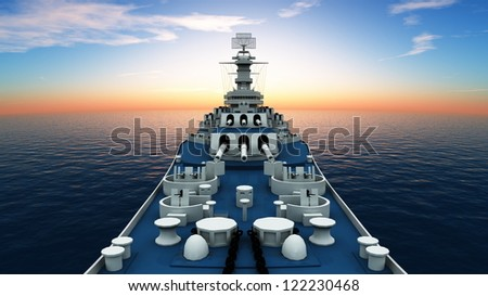 aegis-equipped destroyer