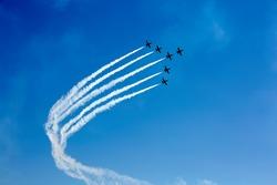 aerial airplane show