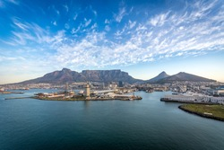 Aerial Cape Town South Africa