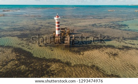 Aerial images of the beach of Maceió Alagoas #1293474976