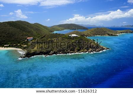 Aerial Island View