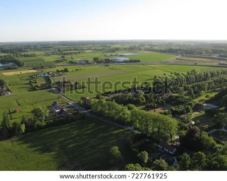 aerial landscape belgian...