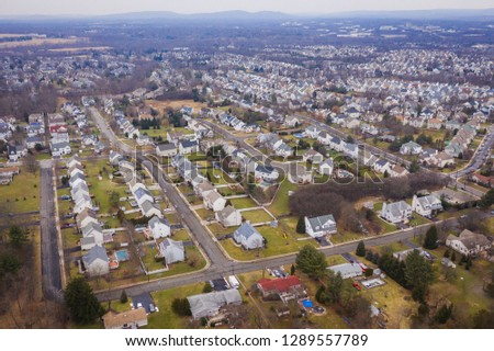 Aerial of Branchburg New Jersey