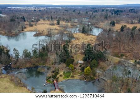 Aerial of Hillsborough New Jersey