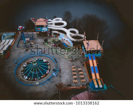 Aerial of Theme Park #1013338162
