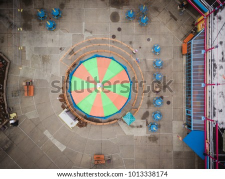 Aerial of Theme Park #1013338174