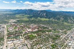 Aerial Photo of Boulder, Colorado