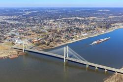 Aerial Photo of Cape Girardeau Missouri