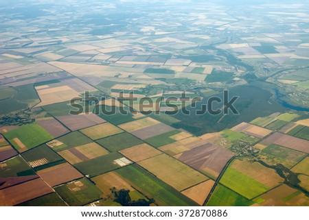 Aerial photo of Farmland